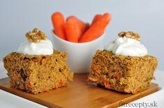 Ovsený mrkvový koláč - FitRecepty