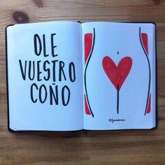 ¡Viva tu coño! (Alfonso Casas)