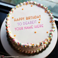 40 Best Birthday Cake Generator With Name Editing Images