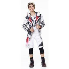 Carlos played by Cameron Boyce. Rest In Piece, we will always love you. Gone but never forgotten. He had a huge positive impact on everyone he met. Carlos Descendants, Disney Channel Descendants, Cameron Boys, Dove Cameron, Descendants Costumes, Descendants Characters, Booboo Stewart, Film Serie, Disney Villains