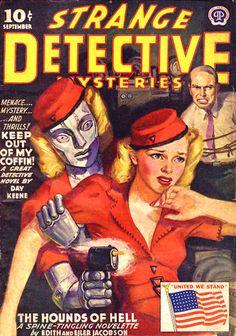 Milton Luros / Strange Detective Mysteries, Sep. 1943