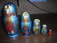 Exclusive Russian Wooden Nesting Dolls Matryoshka Souvenir Matreshka Gift | eBay