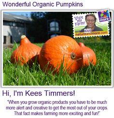 #organic #pumpkin #natureandmore #code640 @keestimmers