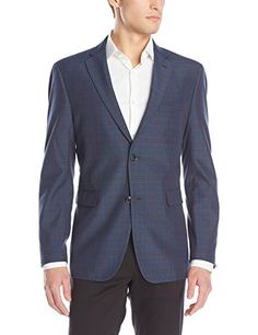 Tommy Hilfiger Men's Gibbs 2 Button Side Vent Plaid Sport Coat  http://www.allmenstyle.com/tommy-hilfiger-mens-gibbs-2-button-side-vent-plaid-sport-coat-2/
