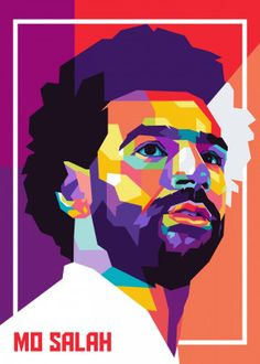 MO SALAH Pop Art detailed, premium quality, magnet mounted prints on metal designed by talented artists. Our posters will make your wall come to life. Soccer Images, Soccer Pictures, Soccer Art, Football Art, Drawing Cartoon Characters, Cartoon Drawings, Art Pop, Pop Art Posters, Poster Prints