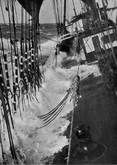 Posted Image Old Sailing Ships, Pirate Adventure, Full Sail, Merchant Navy, Stormy Sea, Vintage Fishing, Tall Ships, Black White Photos, Nautical Theme