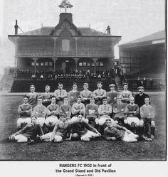 Ibrox, the home of Glasgow Rangers. Grandpa was a St. Mirren supporter but I'm sure he had a soft spot for Rangers too :-) Rangers Team, Rangers Football, Football Team, Paisley Scotland, Grace Slick, Everton Fc, Retro Football, Leeds United, Football Stadiums