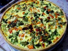 Aprenda a preparar a receita de Quiche de Brócolis e Tomate Italiano