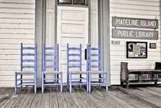Madeline Island Public Library, near Bayfield WI