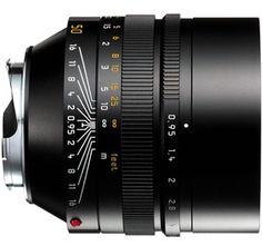Lensa Leica Noctilux 50mm f0.95 - Lensa dengan aperture terbesar saat ini