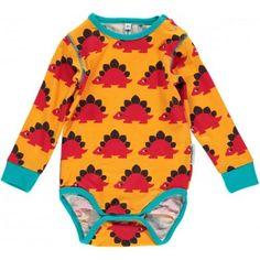 Maxomorra Baby Bodysuit, Dino - £13.99 - A great range of Maxomorra Baby Bodysuit Dino - FREE Delivery over £25!