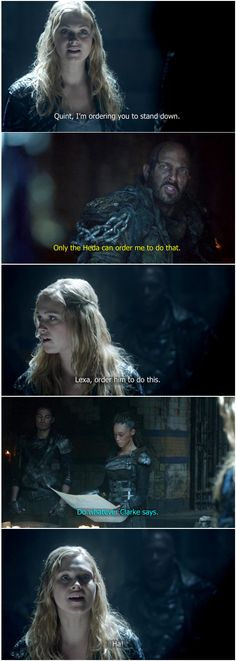 Lol im not a clexa shipper but its still so good 🖤bellarke🖤 Lexa The 100, The 100 Clexa, The 100 Cast, The 100 Show, Series Movies, Movies And Tv Shows, Tv Series, Twenty One Pilots, Eliza Jane Taylor