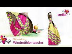 Windmühlentasche nähen - Nähanleitungsvideo | smillablog
