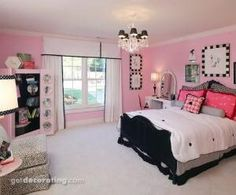 For Olivia's bedroom in her new house> paris bedroom theme | Paris Themed Girls' Bathroom?? - Home Decorating & Design Forum ... by mickichele