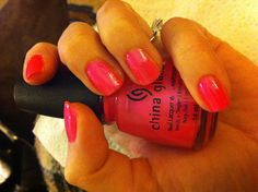 China Glaze -Pink Voltage