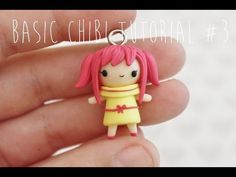 Basic Chibi #3: Pigtails polymer clay tutorial