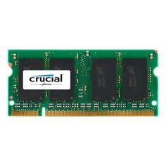 Crucial 1GB, 200-Pin Sodimm, DDR PC3200 Memory Module