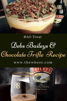Debs Baileys & Chocolate Trifle Recipe Is Perfect For The Holidays   The WHOot