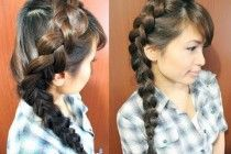 Braids to grow your hair. Of all the styles that I now behave far I have one thing I noticed : braids are perfect to let your Different Styles Of Braids For Long Hair grow .