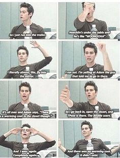 Teen wolf - Posey and Hoechlin prank Dylan O'Brien