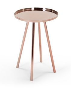 The Alana Bedside Table in Copper. £79   MADE.COM