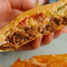 Crunchwrap Supreme – – You are in the right place about Easy Recipes dinner Here we offer you the most beautiful pictures about the Easy Recipes cake you are looking for. When you examine the Crunchwrap Supreme – – part of the picture you can get the … Clean Eating Recipes, Cooking Recipes, Healthy Recipes, Fastfood Recipes, Healthy Tacos, Easy Recipes, Egg Roll Recipes, Cooking Rice, Cooking Bacon