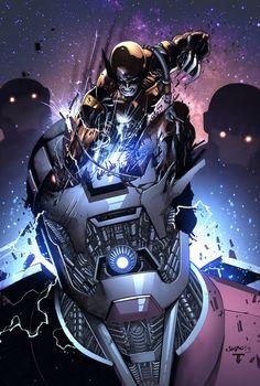 Wolverine Vs. Sentinels by Jimbo Salgado & Juan Fernandez
