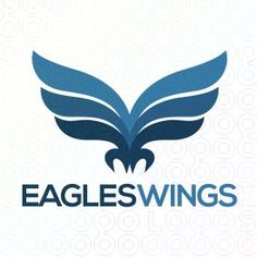 Exclusive Customizable Logo For Sale: Eagles Wings | StockLogos.com