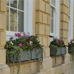 Over Door Porches - Door Canopy Designs - Metal Planters Over Door Canopy, Door Canopy Porch, Door Canopy Designs, Metal Window Boxes, Botanical Interior, London Garden, Summer Plants, Metal Planters, Container Flowers