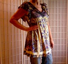 38 Shabby Chic Portlandia UpCycled Women's Teens by ArtzWear