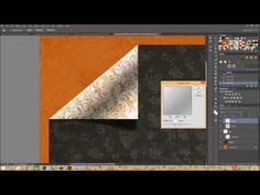Photoshop :: ▶ Tutorial Tuesday - Realistic Page Folds - YouTube