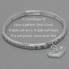 """""""Love Never Fails"""", really want this!"""