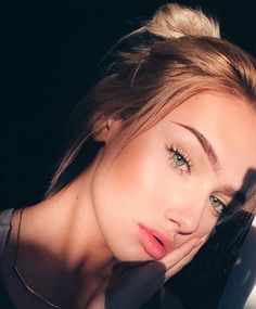 ♡Emily Karlstrom♡... I am obsessed with her eyebrows! Perfection!!!! Follow me..... @nikkibrawn