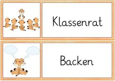 material-intern - Zaubereinmaleins - DesignBlog Kindergarten, German Language Learning, Religion, Germany, Teacher, Schedule, Organization, The Ear, New School Year