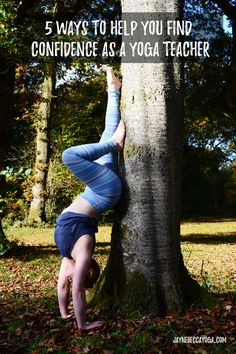Pin It! 5 Ways to Help You Find Confidence as a Yoga Teacher - Jayne Becca Yoga