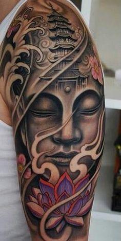 Wicked buddist inspired tattoo