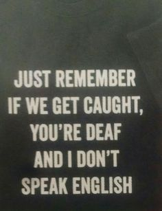 No habla english