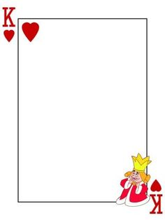 Journal Card - King Of Hearts - Alice In Wonderland - Playing Card - 3x4 Photo by pixiesprite | Photobucket