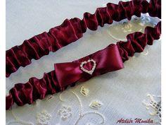 Garter, Thighs, Burgundy, Bride, Boho, Chain, Shades, Wedding, Fashion