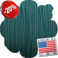 Paracord - Light Green 550 Paracord, Drink Sleeves, Teal, Green, How To Make, Stuff To Buy, Fashion, Moda, Fashion Styles