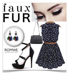 """#3/6 Romwe"" by munira-salihovic ❤ liked on Polyvore"