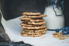 Thin Oat and Ginger Crisps - Green Kitchen Stories