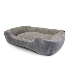 Take a look at this Gray Embossed Bone Cuddler Pet Bed by American Kennel Club on #zulily today!