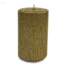 Pride & Joy Candle Gold Tree Texture - Small