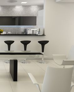 Minimal and clean structural lines make these pieces perfect for a modern and sophisticated ambiance. Rooms Home Decor, Vacation Ideas, Contemporary, Modern, Minimalism, Household, Sweet Home, House Ideas, Dining Table