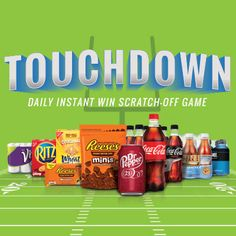 I'm playing the Game Day Greats Instant Win Scratch-Off Game for a chance to win great prizes daily!