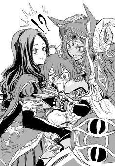 da Vinci / Gudako / Queen of Sheba [artist: unyanai] Type Moon Anime, One Punch Anime, Fate Servants, Fate Anime Series, Comic Pictures, Amon, Gurren Lagann, Cool Animations, Fate Stay Night