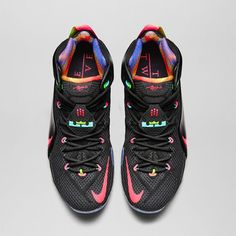 wholesale dealer 4ecae 8f196 Nike LeBron 12 Data Release Date and Official Images Black Bright Mango  Hyper Punch Volt 684593 068