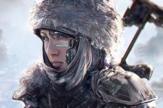 Speedpaint based on a photo older work by Klaus Wittmann. (via ArtStation - v, klaus wittmann) Character Concept, Character Art, Concept Art, Character Design, Character Reference, Character Portraits, Character Creation, Steampunk, Dream Cast