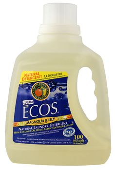 Earth Friendly Ultra Ecos® Laundry Detergent Magnolia & Lily